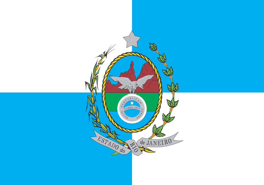 092f9109b4b Bandeira do Rio de Janeiro – Estados e Capitais do Brasil