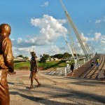 Acesso à passarela estaiada Joaquim Falcão Macedo - Rio Branco/ AC