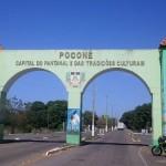 Portal da cidade de Poconé/ MT