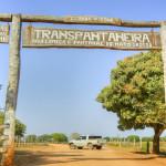 Portal da Rodovia Transpantaneira/ MT