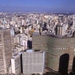 Vista aérea parcial da cidade de São Paulo/ SP