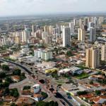 Vista aérea parcial de Cuiabá/ MT