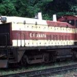 Locomotiva da Estrada de Ferro Amapá