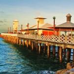 Ponte metálica da Praia de Iracema - Fortaleza/ CE