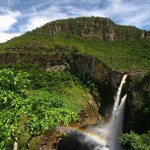 Salto do Rio Preto, em Alto Paraíso/ GO