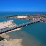 Vista aérea da Barra do Ceará - Fortaleza/ CE
