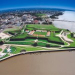 Vista aérea da Fortaleza de São José do Macapá/ AP