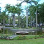 Vista parcial do Parque Moscoso - Vitória/ ES