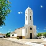 Igreja matriz do município de Castelo do Piauí