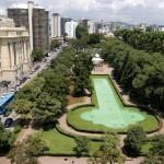 Vista aérea da Praça da Liberdade - Belo Horizonte/ MG