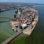 Vista aérea de Recife/ PE