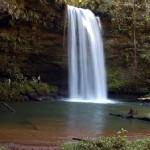 Cachoeira da Roncandeira, no distrito de Taquaruçu - Palmas/ TO