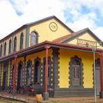 Museu Histórico Municipal de Guajará-Mirim, antiga estação final da ferrovia Madeira-Mamoré - Guajará-Mirim/ RO