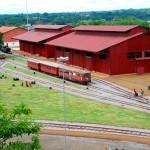 Praça e Museu da Estrada de Ferro Madeira-Mamoré - Porto Velho/ RO