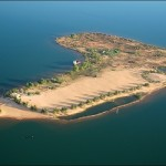 Vista aérea da Ilha Canela - Palmas/ TO