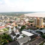 Vista aérea parcial de Porto Velho/ RO