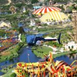 Vista aérea do Parque Temático Beto Carrero World - Penha/ SC
