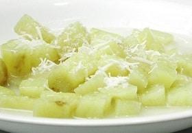 Batata-doce com leite de coco