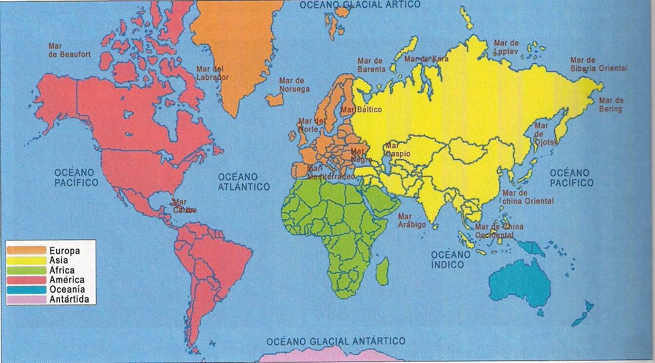 mapa mundi com capitais Mapa Mundi Continentes – Estados e Capitais do Brasil mapa mundi com capitais