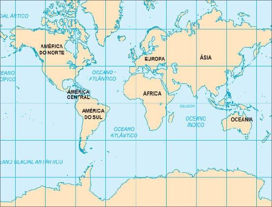 MapaMndi mapa do mundo  ECB