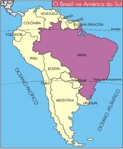 mapa da américa do sul países e capitais Qual o maior país da América do Sul? – Estados e Capitais do Brasil mapa da américa do sul países e capitais
