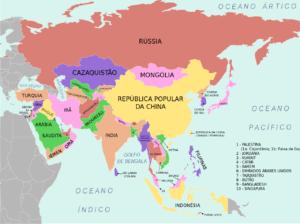 Qual o maior continente do mundo?