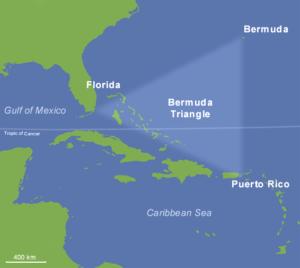 Onde fica o Triângulo das Bermudas?